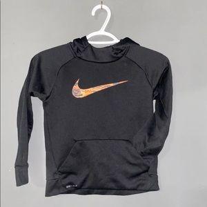 Nike Swoosh graphic hoodie